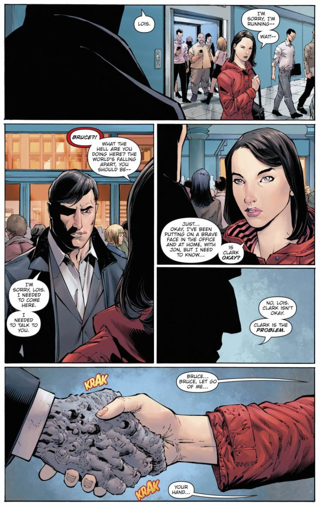 The Devastator Infects Lois Lane With The Doomsday Virus