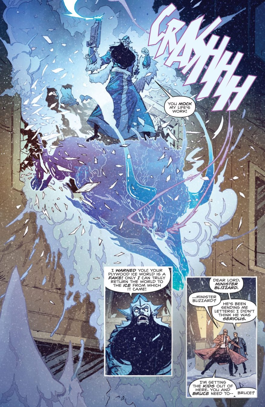Batman VS Minister Blizzard
