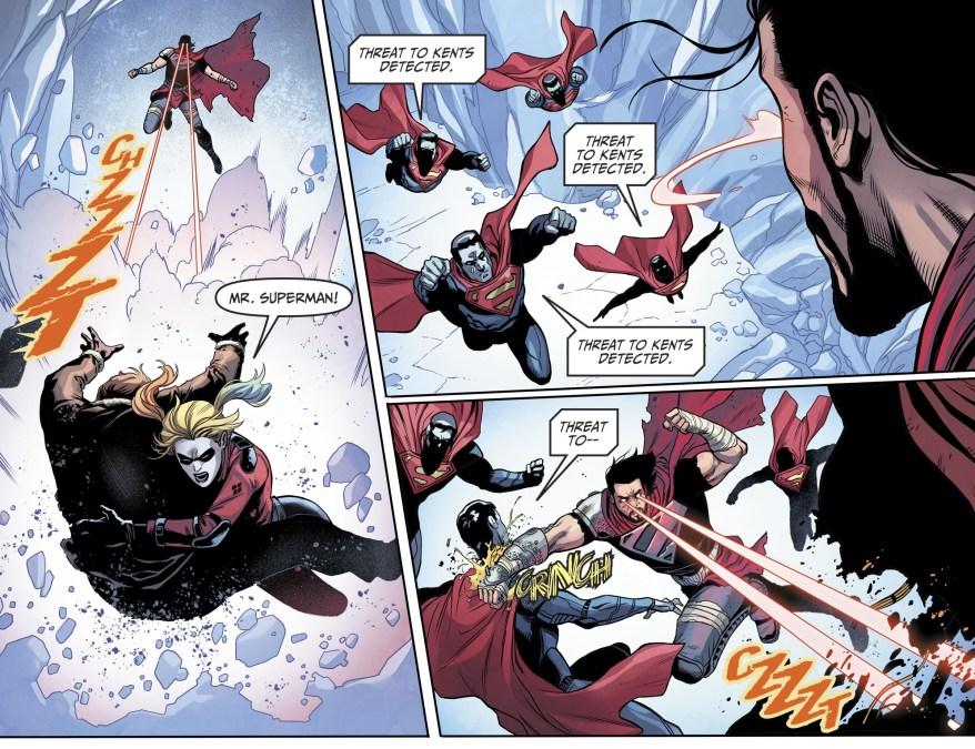 Batman's Team VS General Zod (Injustice II)