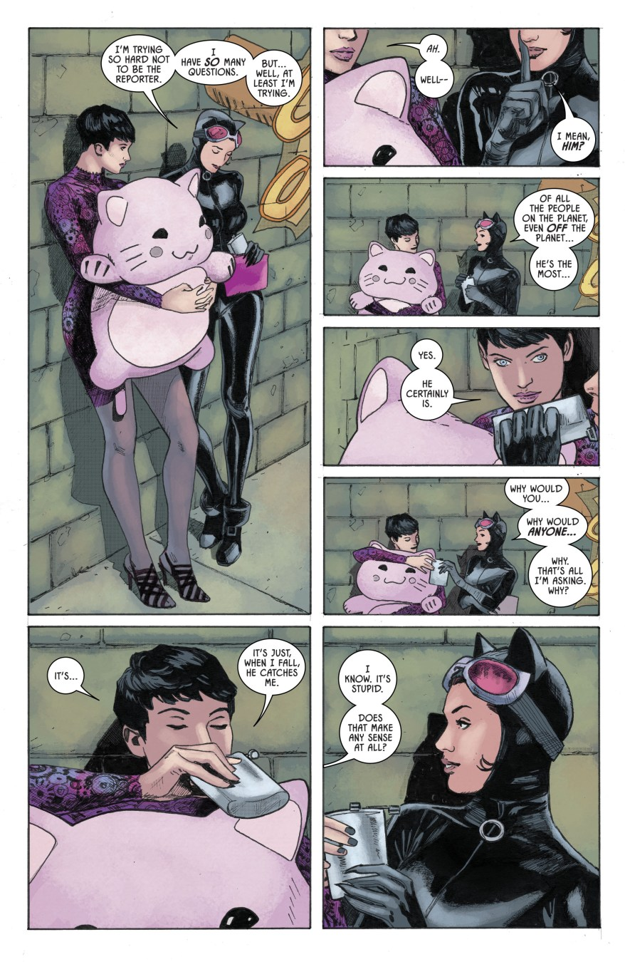 Lois Lane And Catwoman Bonding (Rebirth)