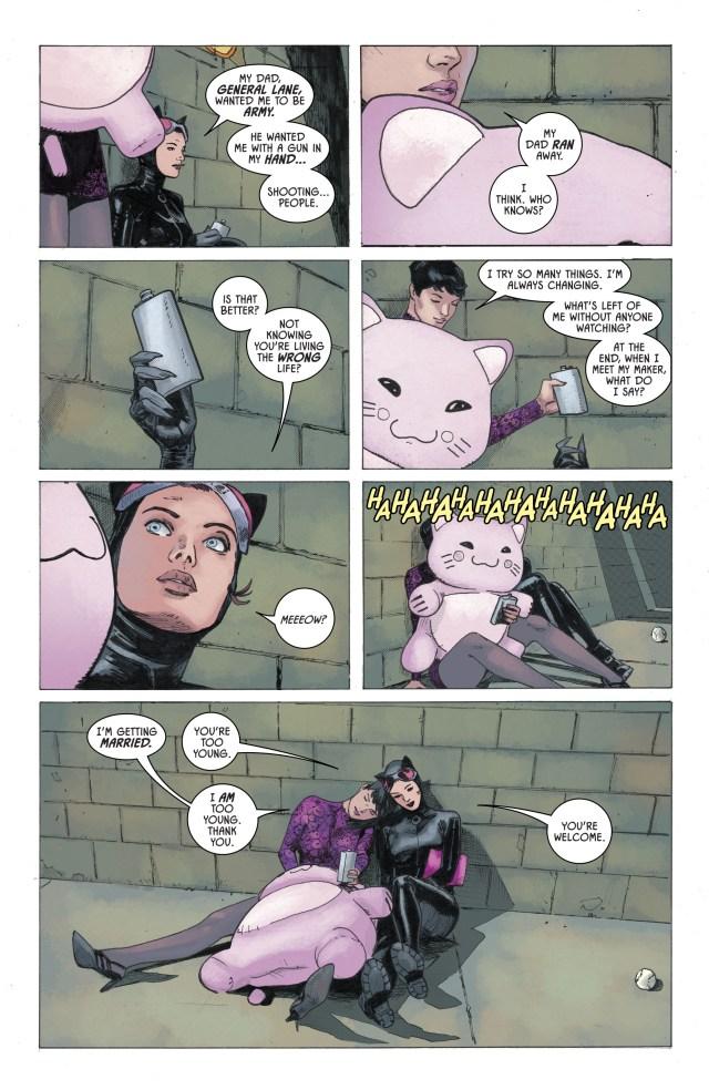 Lois Lane And Catwoman Bonding (Rebirth)