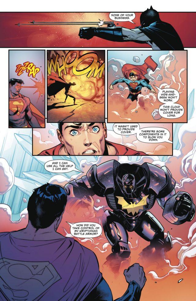 Superman VS Batman Tim Drake (Rebirth)