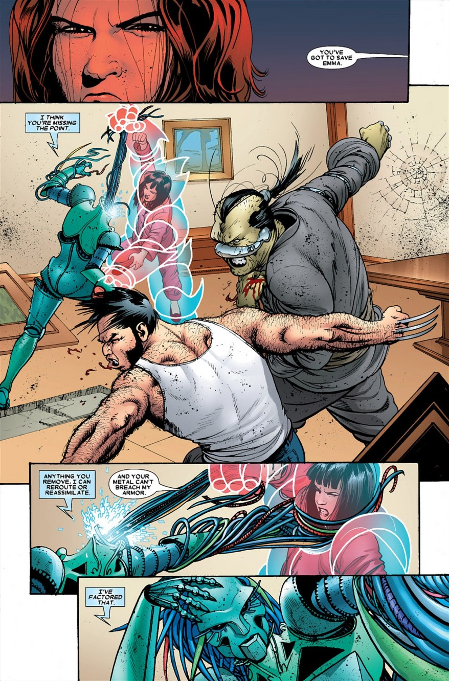 Armor And Wolverine VS Danger And Ord