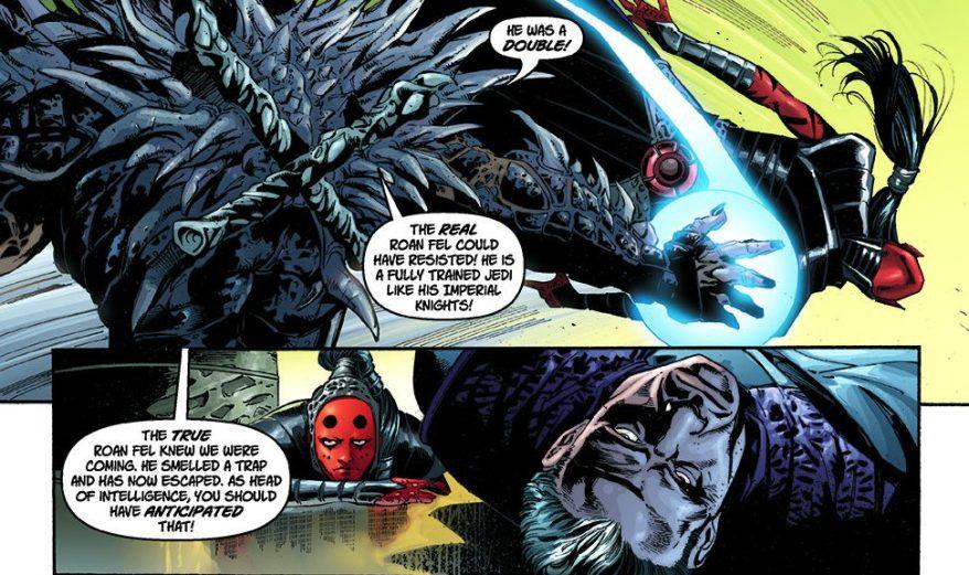 Darth Krayt Betrays Emperor Roan Fel