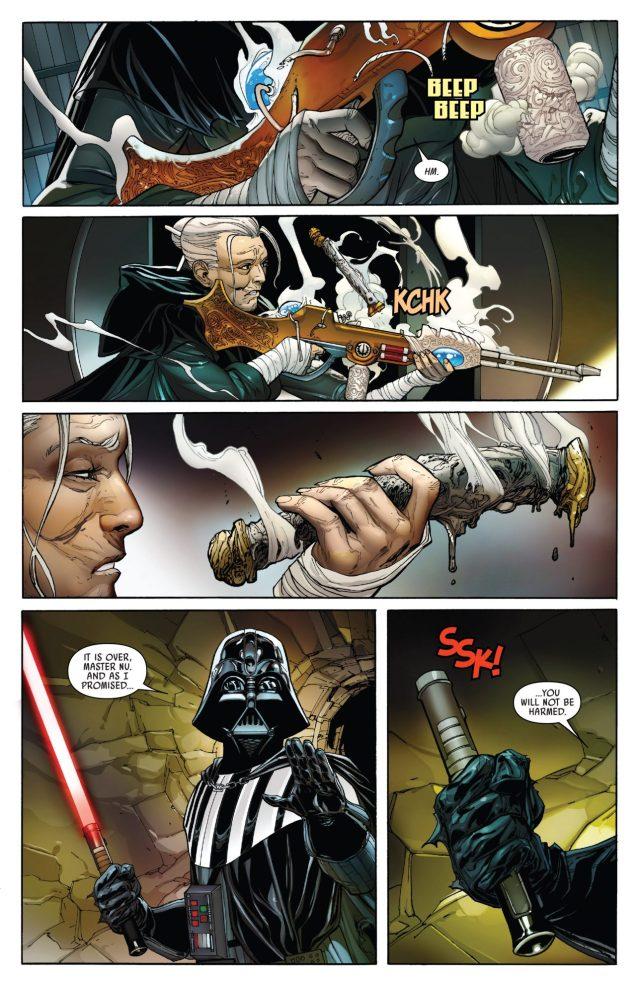 Darth Vader VS Jocasta Nu