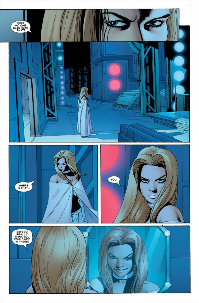 Emma Frost VS Kitty Pryde (Astonishing X-Men)