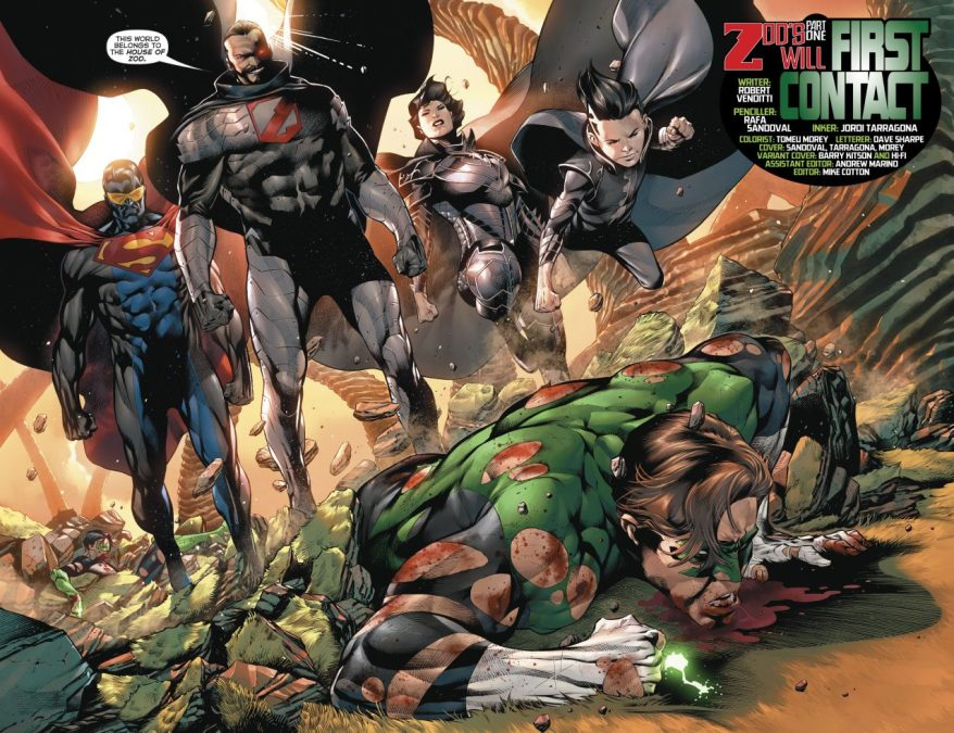 House Of Zod (Hal Jordan & the Green Lantern Corps #37)