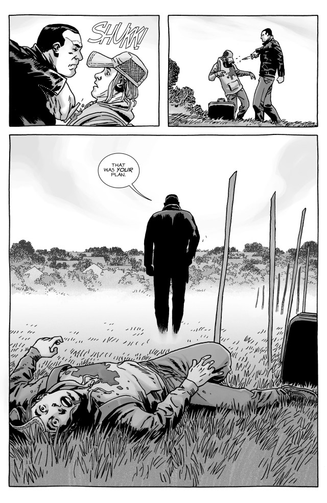 Negan Kills Brandon Rose (The Walking Dead)