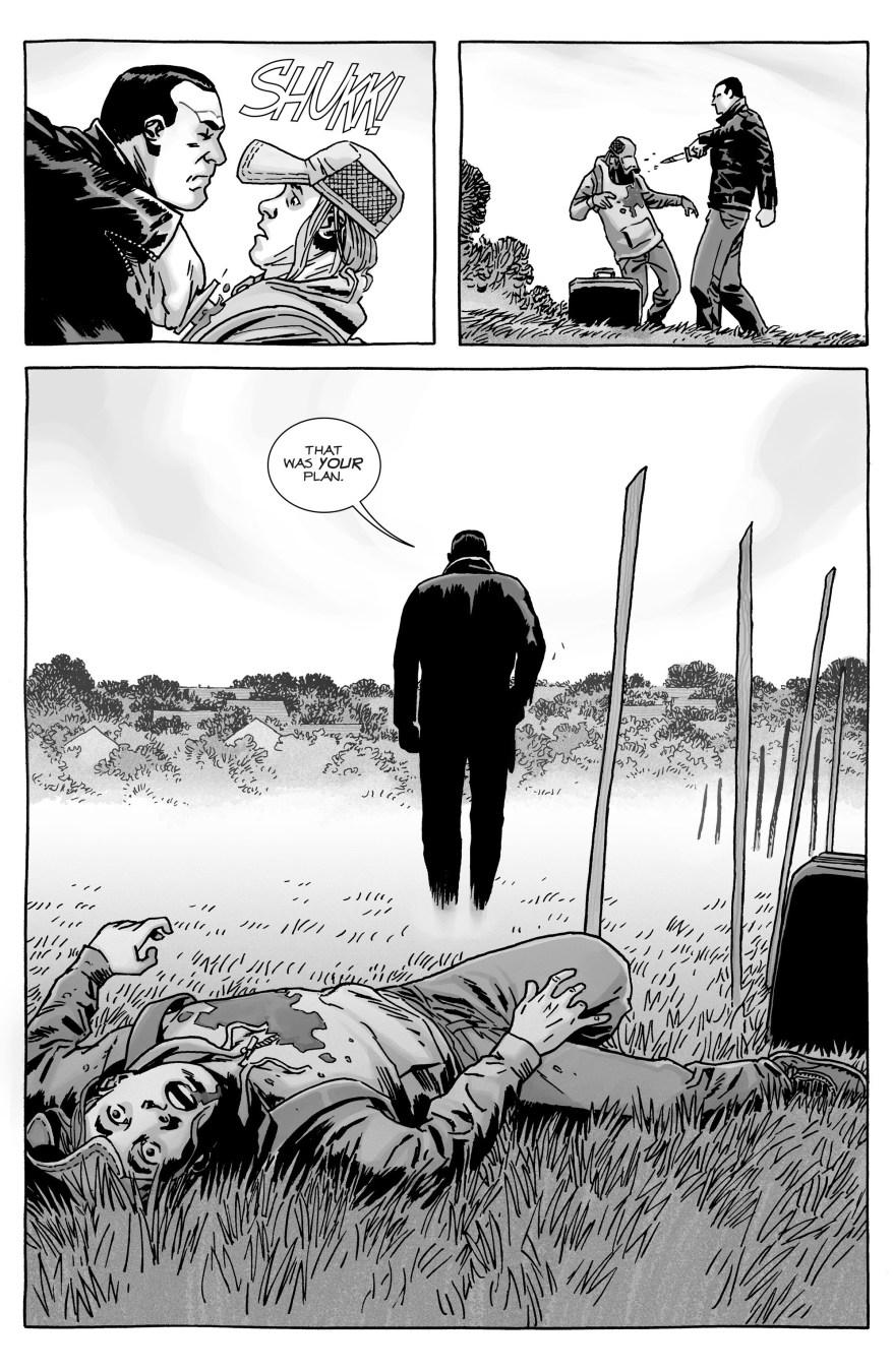 Negan Kills Brandon Rose (The Walking Dead)