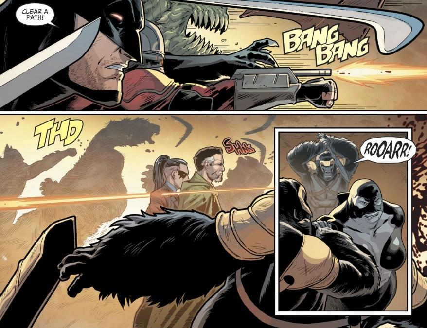 Suicide Squad VS Gorillas (Injustice II)