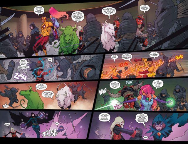 Teen Titans And Demon's Fist VS League Of Assassins