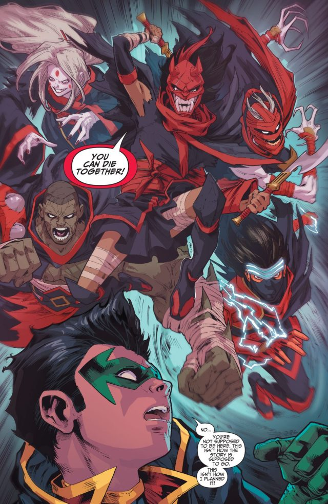 The Demon's Fist VS The Teen Titans