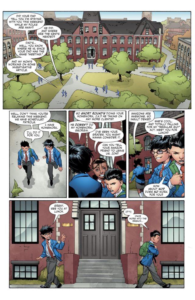 Damian Wayne As A School Student