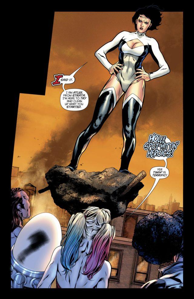 Harley Quinn Meets Atlee (Rebirth)