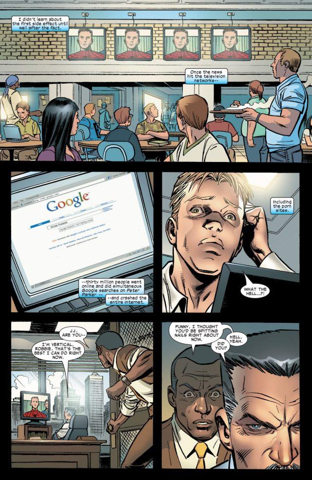 J Jonah Jameson Learns Peter Parker Is Spider-Man