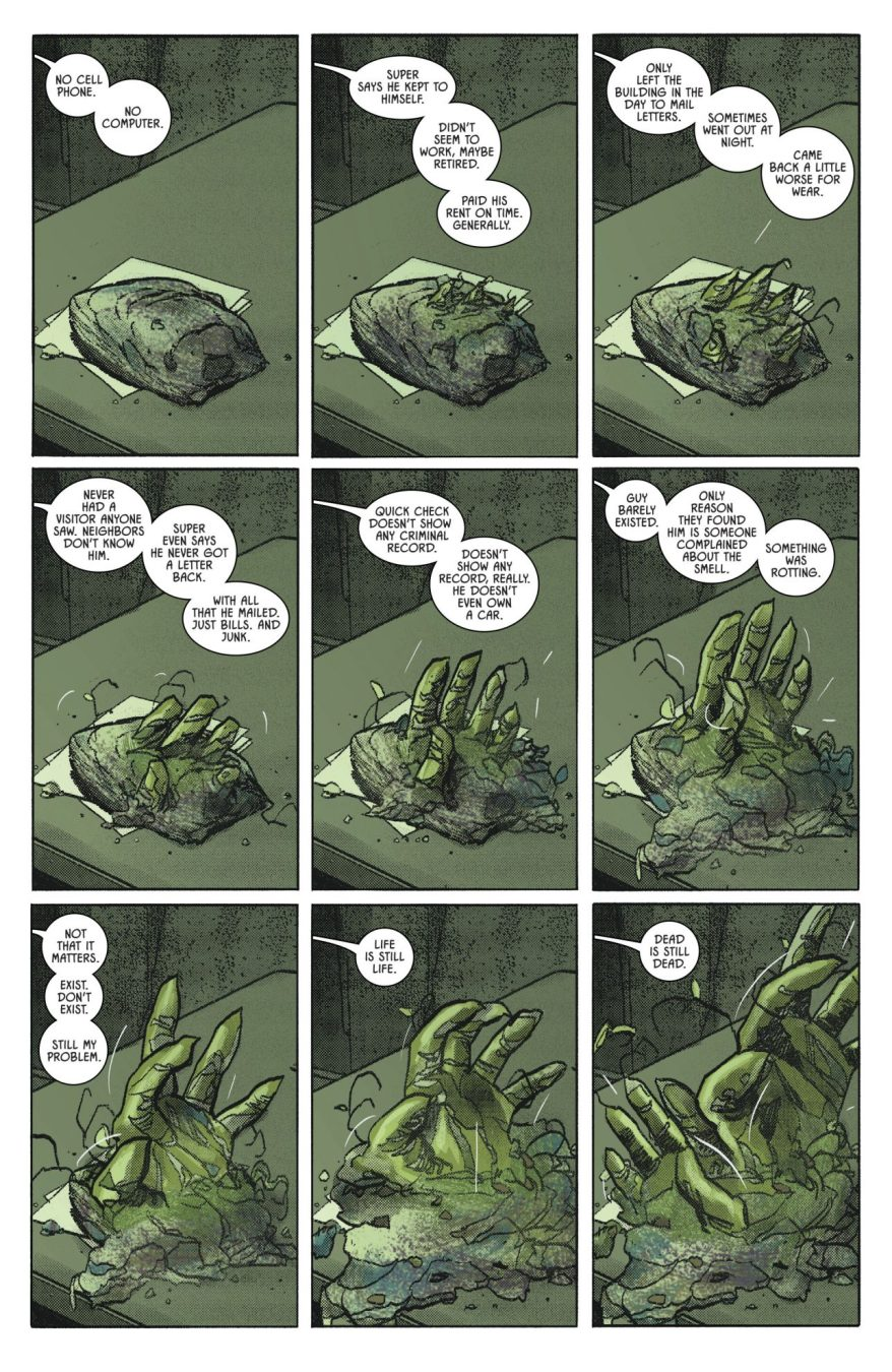 Jim Gordon's First Meeting With Swamp Thing (Rebirth)