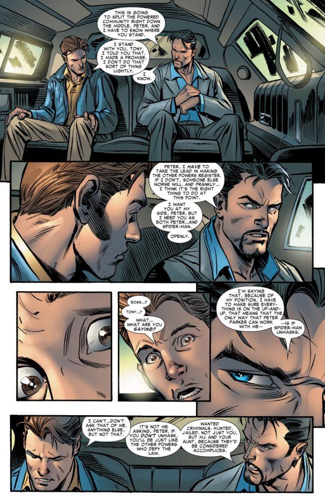 Why Iron Man Wants Spider-Man To Unmask