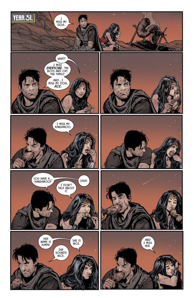 Wonder Woman Has A Kangaroo