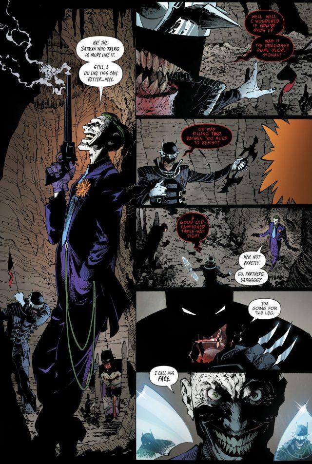 Batman And The Joker VS The Batman Who Laughs