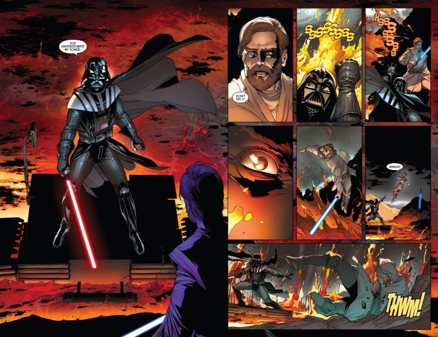 How Darth Vader Would Win The Duel On Mustafar