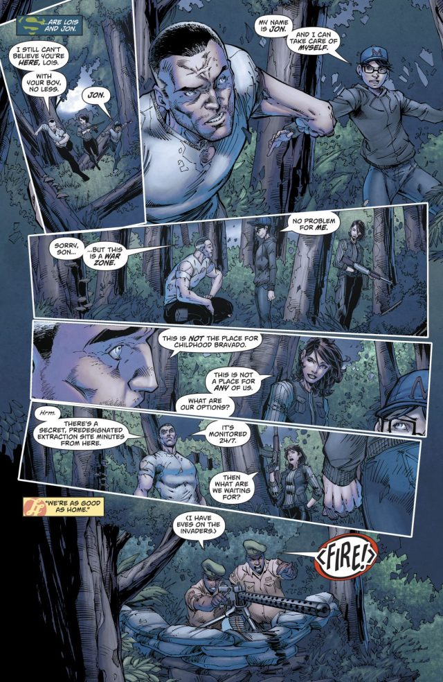 Lois Lane And Her Father Dies (Rebirth)