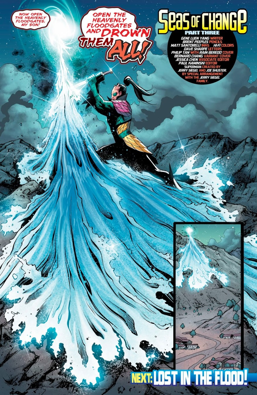 Dragonson (New Super-Man #22)