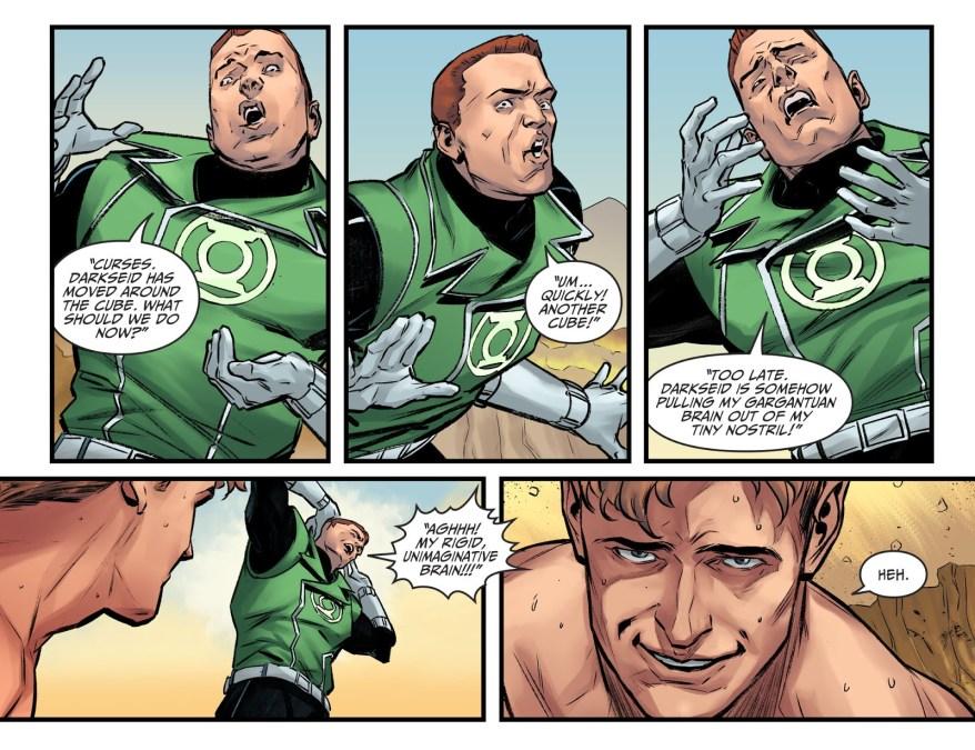 Guy Gardner Mocks The Guardians Of The Universe (Injustice II)
