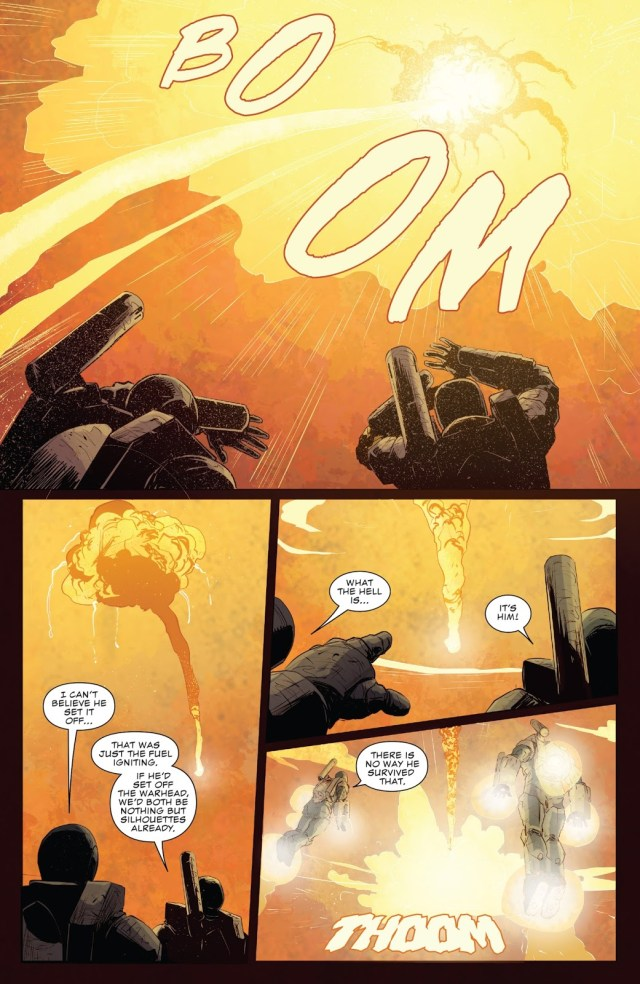 The Punisher Disarms A Nuclear Missile