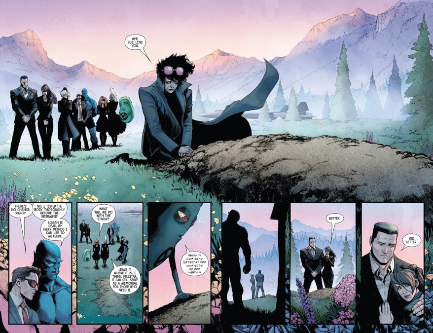 Wolverine's Funeral (Hunt For Wolverine)