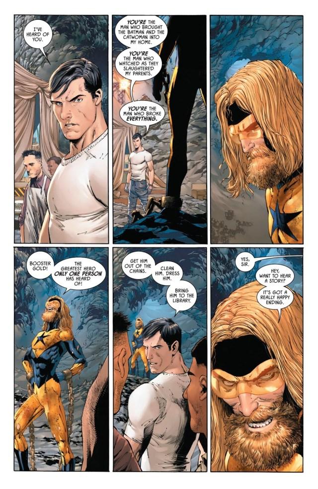 Booster Gold's Origin Story (Batman Vol 3 #47)