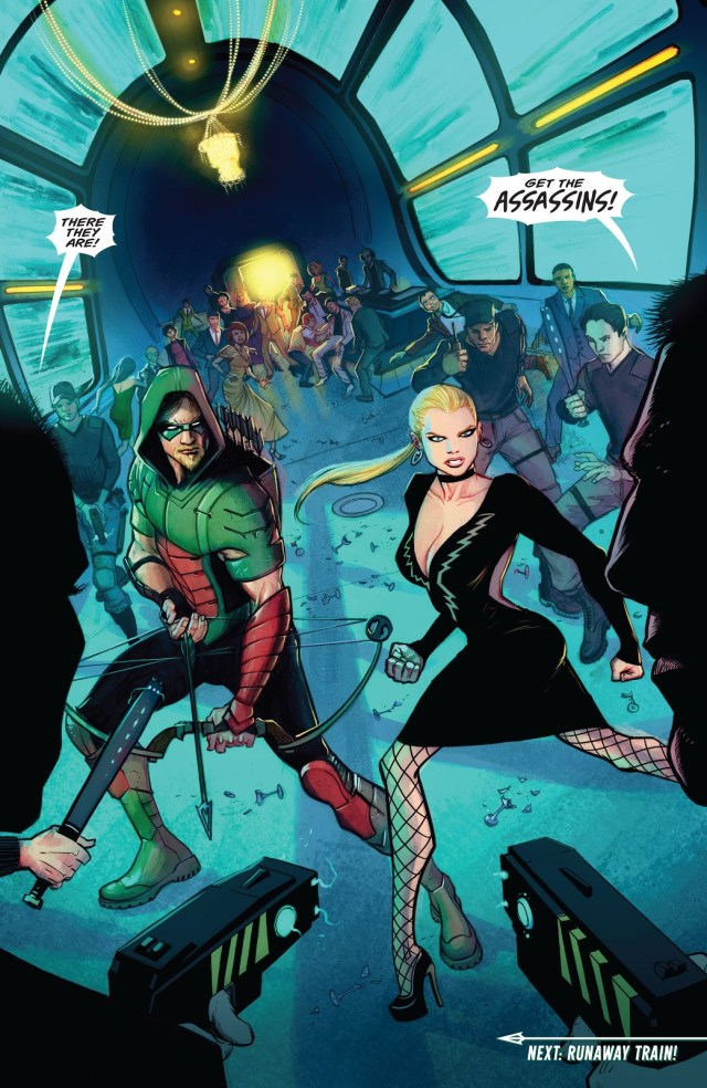 Green Arrow And Black Canary (Green Arrow Vol. 6 #10)
