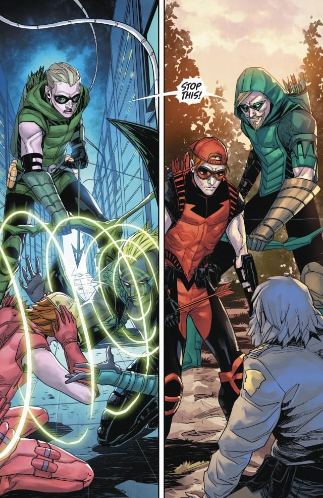 Green Arrow And Roy Harper (Green Arrow Vol 6 #20)