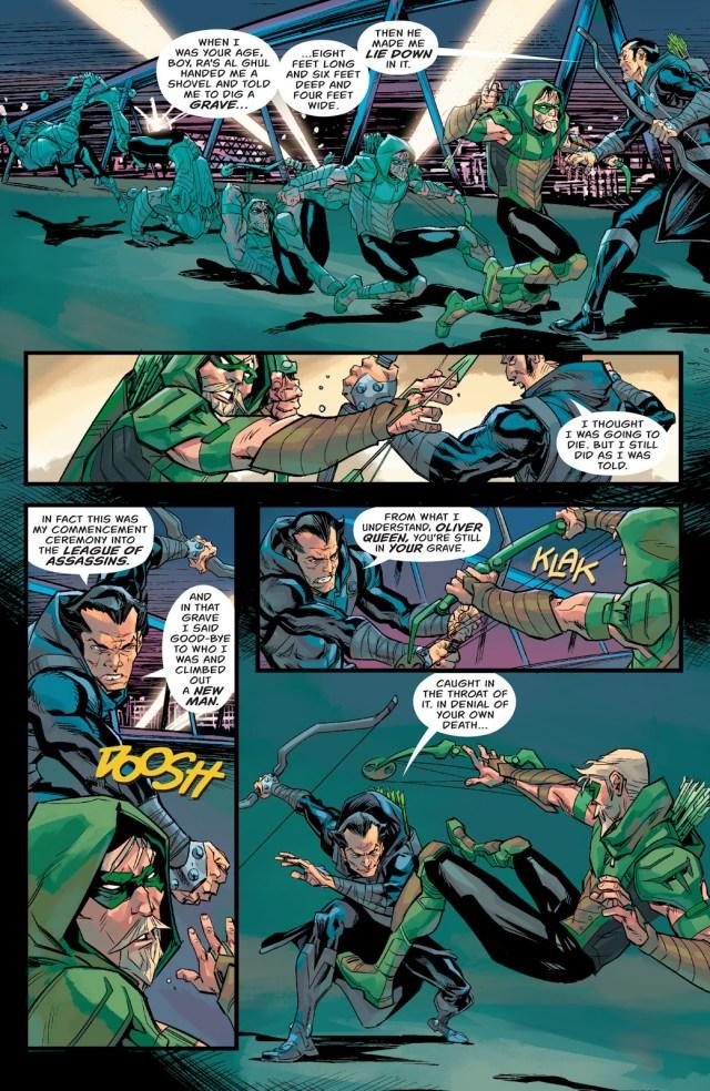 Green Arrow VS Dark Archer (Rebirth)