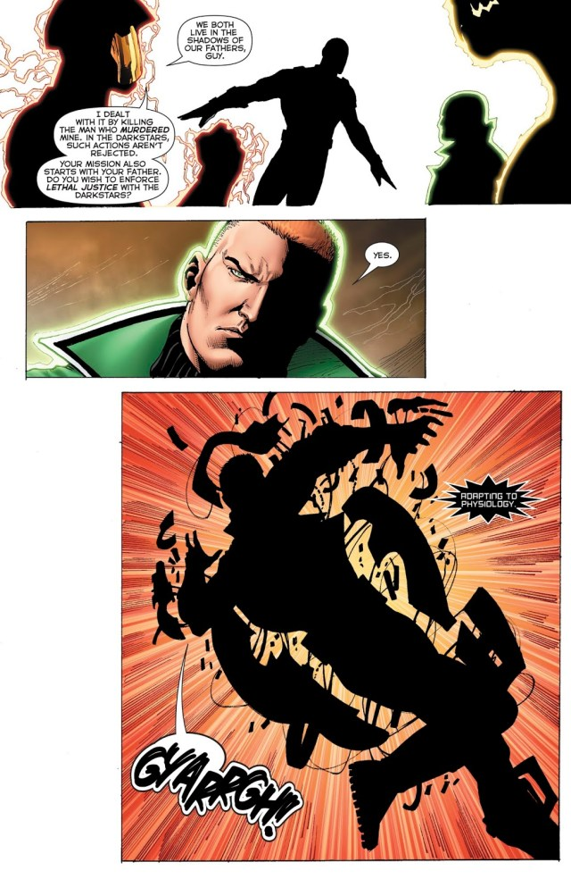 Guy Gardner Joins The Darkstars