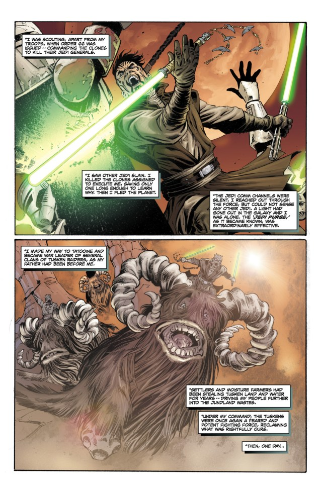 How Darth Krayt Survived Order 66
