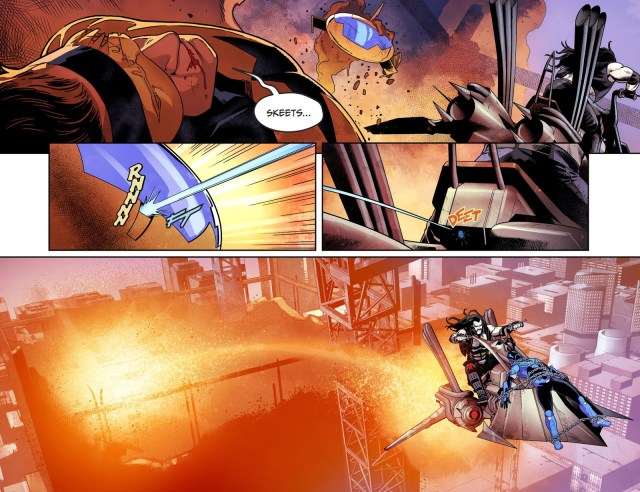 Lobo VS Booster Gold (Injustice II)