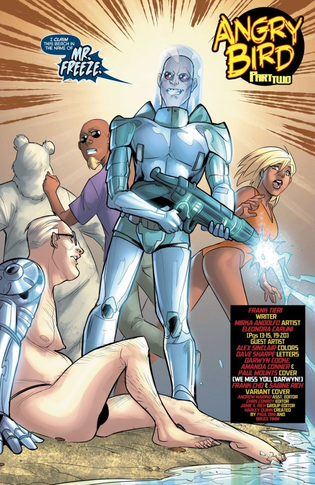 Mister Freeze (Harley Quinn Vol 3 #38)