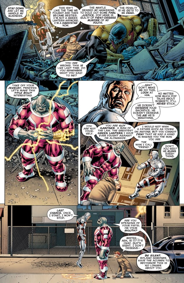 Darkstar Guy Gardner VS Arkillo