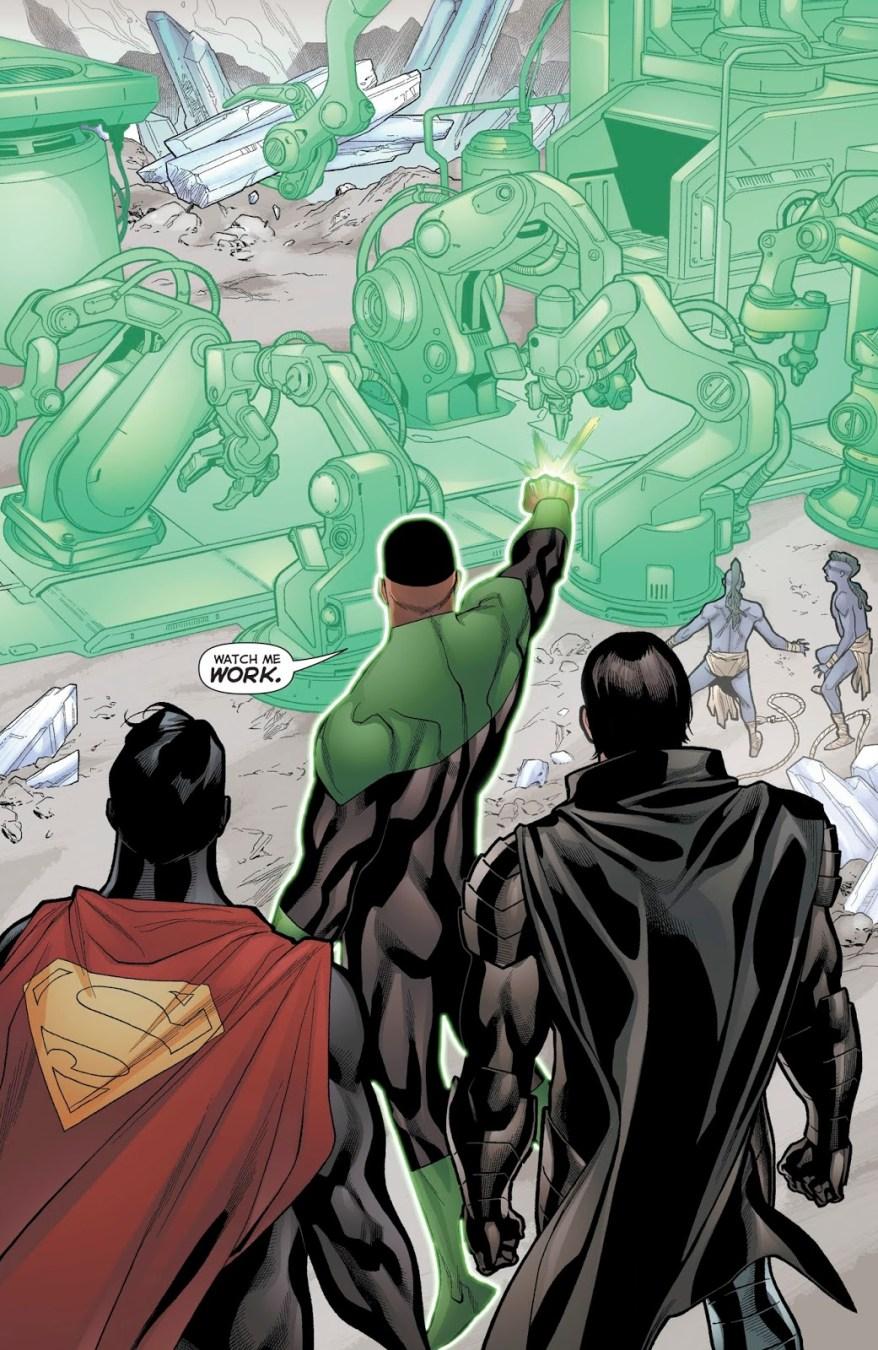 John Stewart Builds A Kryptonian Teledisruptor
