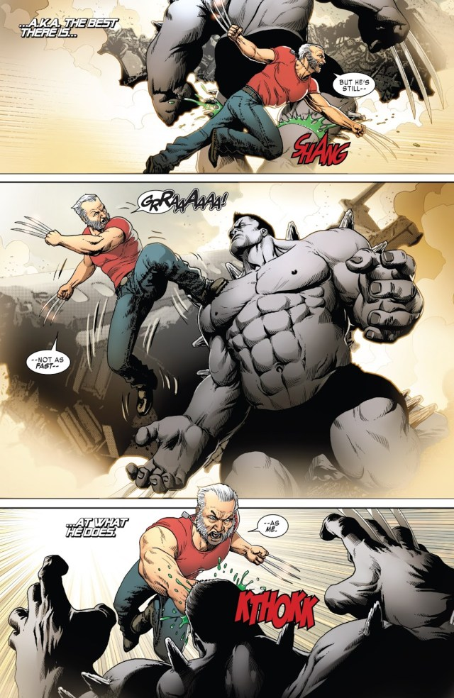 Old Man Logan VS Hulkverine