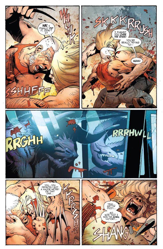 Old Man Logan VS Sabretooth