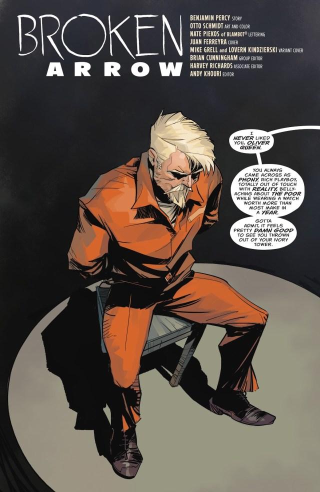 Oliver Queen (Green Arrow Vol 6 #25)