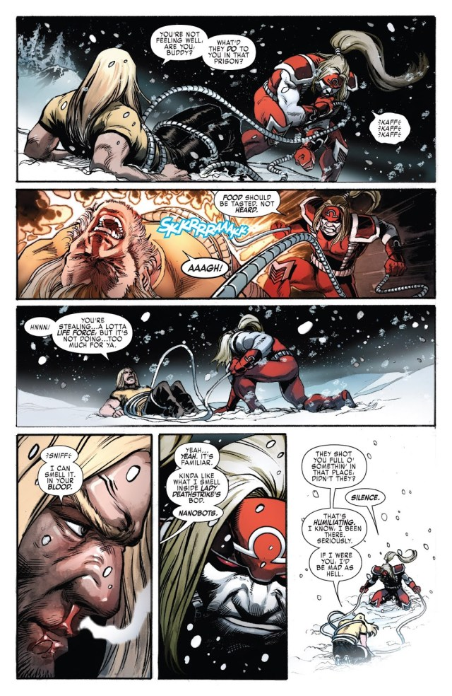 Omega Red Joins Weapon X