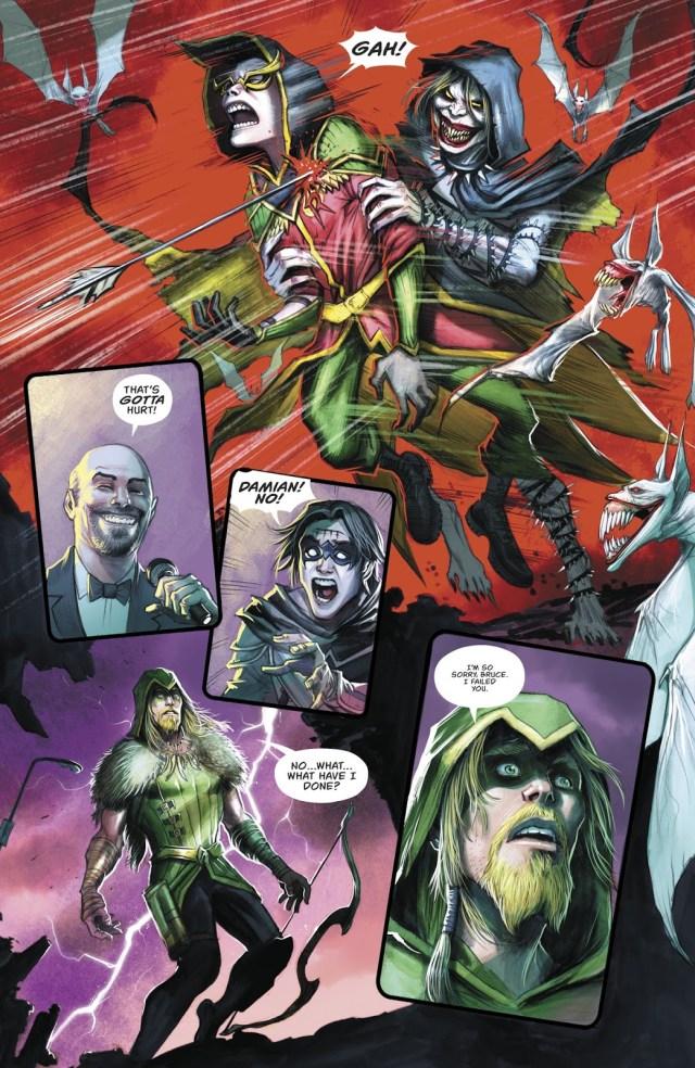 Robin Kills Dark Robin (Dark Nights Metal)