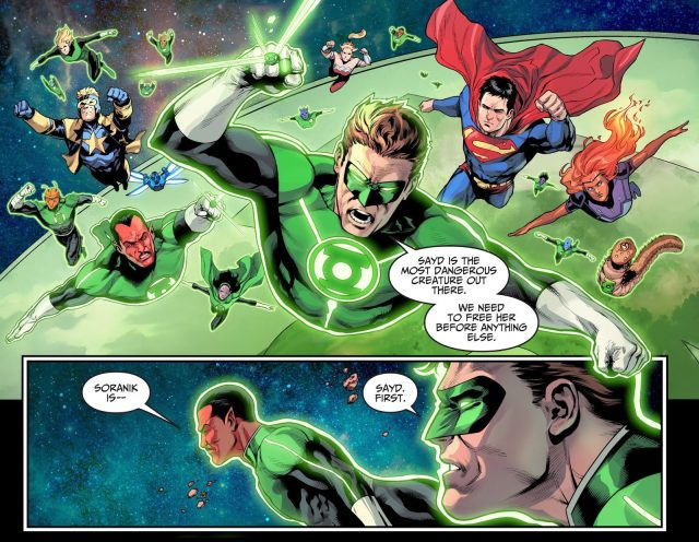 Sinestro Becomes A Green Lantern Again (Injustice II)