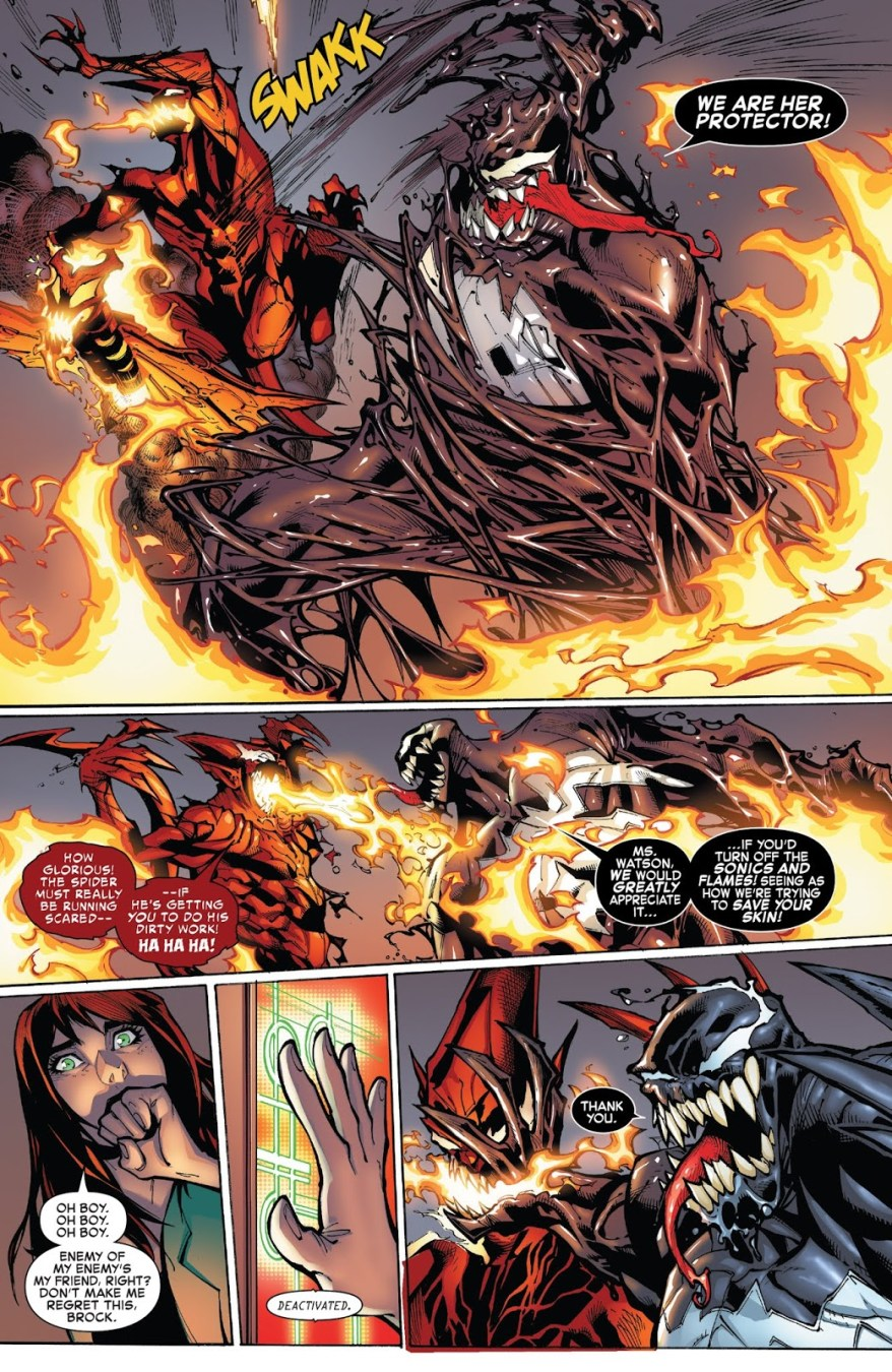 Spider-Man And Venom VS Red Goblin