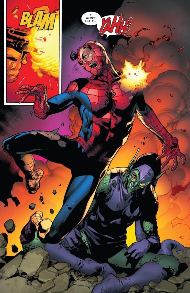 Spider-Man Saves Norman Osborn's Life