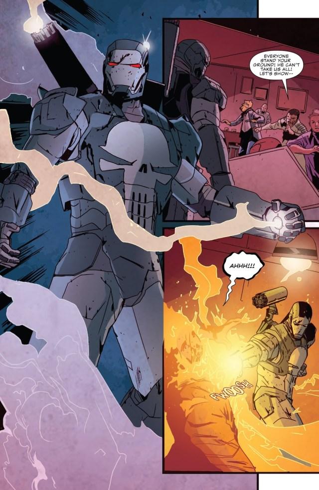 War Machine Punisher Attacks The Bar With No Name