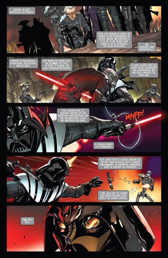 Grand Moff Tarkin Hunts Down Darth Vader