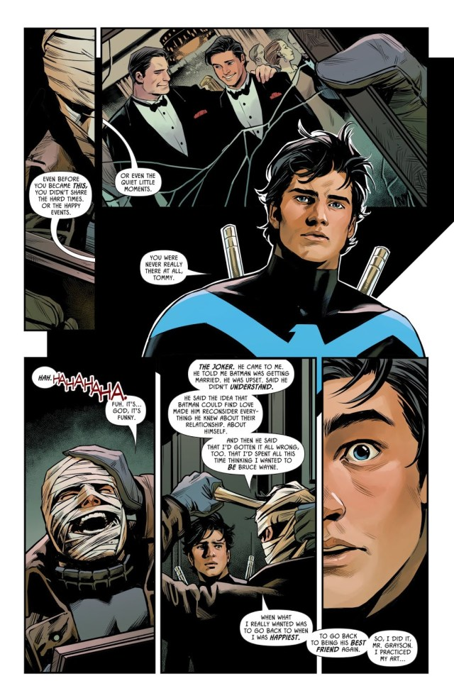 Hush Copies Dick Grayson's Face